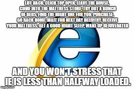 Internet Explorer Meme - internet explorer meme imgflip