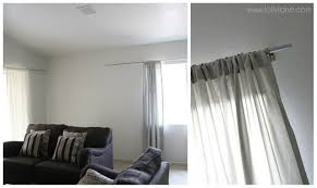 Curtains And Rods Diy Curtain Rod With Clay Finials