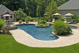Pool Garden Ideas by Landscaping Lighting Ideas House Of Verona Dec Part Small Swimming