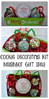 cookie decorating kit neighbor gift