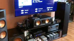 klipsch reference home theater system denon avr 4520ci receiver with klipsch rf 82 ii reference speaker