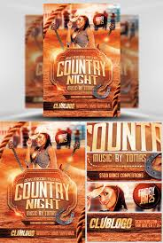 template flyer country free flyer templates gfx country night template all design photoshop