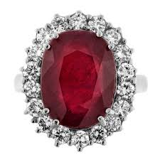diamond cocktail rings stunning 14k white gold ruby diamond cocktail ring 171800 for