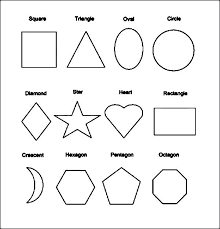 Shapes Coloring Pages Joomla Coloring Pages Shapes