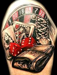 die 25 besten ideen zu casino tattoo auf pinterest totenkopf