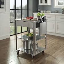 stainless steel kitchen island on wheels stainless steel rolling kitchen cart home furniture
