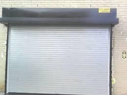 Overhead Door Manual Insulated Roll Up Overhead Garage Door 12 Wide X 12 High