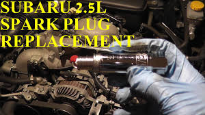 how to install replace spark plugs subaru impreza 2 5l youtube