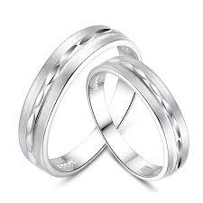 korean wedding rings 925 sterling silver matte leaves rings evermarker