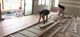 how to install a timber floor construction repair wonderhowto