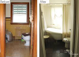 cottage bathroom renovation before and superb before and after