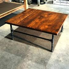 industrial square coffee table coffee table modern industrial coffee table modern industrial