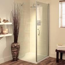 750mm square shower enclosure pivot door u0026 tray silver lakes