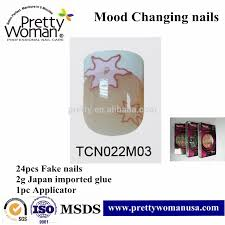 alibaba beauty products fake nails in china mood changing nails