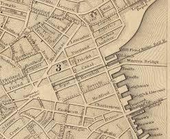 Train Map Of Boston by Bulfinch Triangle