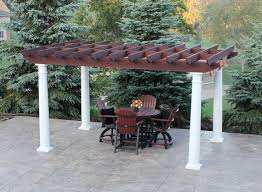 Swing Pergola by Combo Pergola Amish Yard