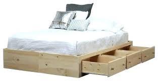 Bed Frames Storage Bed Frame With Storage High Bed Frames Bed Frame