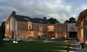Modern Barn House Floor Plans A Contemporary Farm House The Home Is Connected To The Gym And