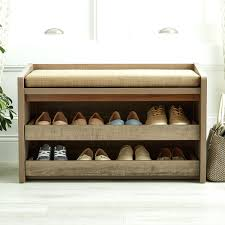 storage entryway storage bench with coat rack entry bench with