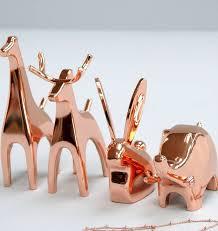 asian giraffe ring holder images Copper animal ring holders by the alphabet gift shop jpg