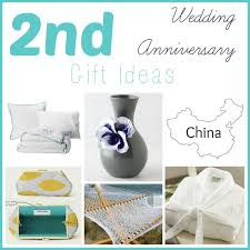 2nd anniversary gifts for second wedding anniversary gift ideas domesticability