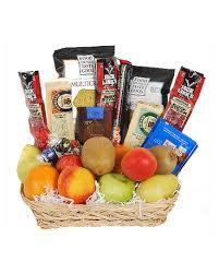 gourmet basket fruit and gourmet basket in wi felly s flowers