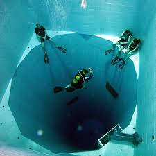 the deepest indoor swimming pool in the world twistedsifter