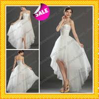 cheap long back short front wedding dresses find long back short