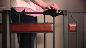 Extra Wide Gate Pressure Mounted Regalo Home Accents Extra Tall Safety Gate Youtube