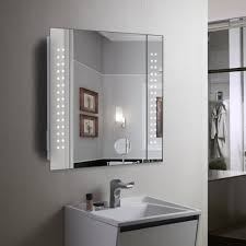 Bathroom Mirror With Lights Built In Bathroom Mirrors Bathroom Mirror With Built In Lights Lighting