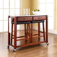 kitchen island table with stools kenangorgun com