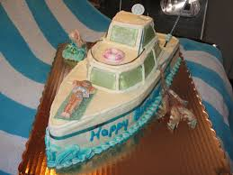 cabin cruiser fishing boat cake a photo on flickriver