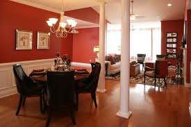 red dining room color ideas home design