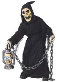 buy scary grim reaper costumes for sale halloween men or child