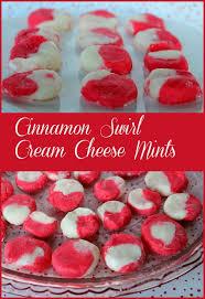 cinnamon swirl cream cheese mints