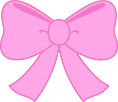 pink bows pink bow clipart