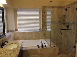 small bathroom ideas with bath and shower separate shower and tub along same wall search master
