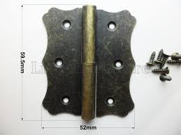 antique brass cabinet hinges 2 pcs chinese classical antique brass color 59 5mmx52mm dream waves