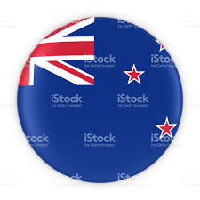 New Zealand New Flag New Zealand Flag Button Flag Of Wales New Zealand Stock Photo Istock