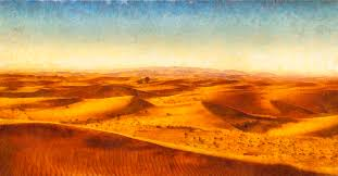 african sand dune art painting sand dunes painting by wall art