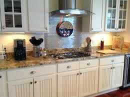 Copper Backsplash Kitchen Metallic Subway Tile Backsplash Metallic Subway Tile Home Tiles