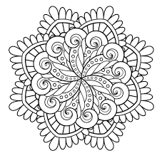 mandala immortality mandalas coloring pages for adults justcolor