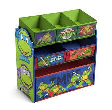 amazon com delta children multi bin toy organizer nickelodeon