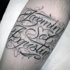 43 amazing name tattoos designed by classy font golfian com