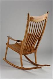 West Elm Ryder Rocking Chair Rock Me Baby Sam Maloof Inspired Piece Crafted By Scott
