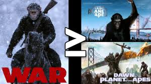 is war for the planet of the apes better than all of the planet of