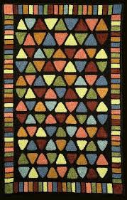 Flip Flop Rugs 406 Best Rug Hooking Geometrics Images On Pinterest Rug