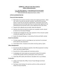 resume format administration manager job profiles office administrator job description office manager vs office