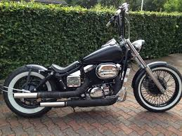 bobberek honda shadow vt steed spirit aero sabre vtx
