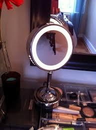 conair chrome magnifying countertop vanity mirror with light beautiful conair makeup mirror bulbs shop conair chrome magnifying